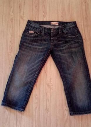 Фирменные,джинсовые бриджи,sexy women