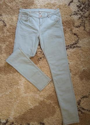 Голубые стрейчевые джинсы slim promod ,распродажа остатков!