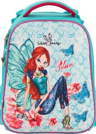 Рюкзак школьный каркасный кайт  531 winx fairy couture