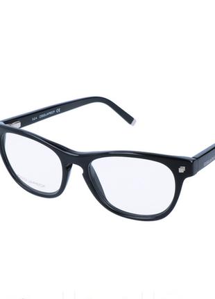 Новая. оригинал. модная оправа dsquared2 очки. чёрный глянец