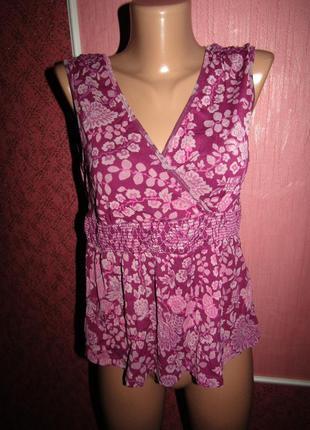 Блуза р-р 38\12 бренд monsoon