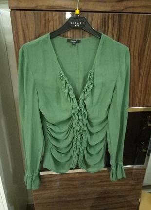 Блузка шелковая essentiel