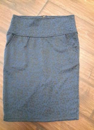 Трикотажная юбка amisu