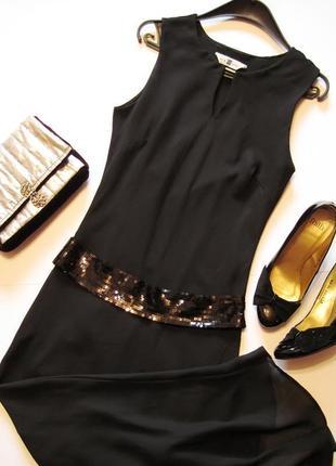 Платье new look вечернее шифоновое макси.