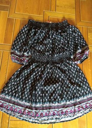 Glamorous bardot dress платье пролет с bargain crazy м (10размер)