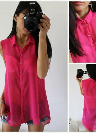 Удлиненная рубашка,блузка,туника
