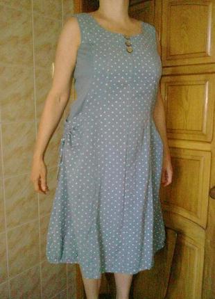 70%хлопок, 30% лен платье alice collins