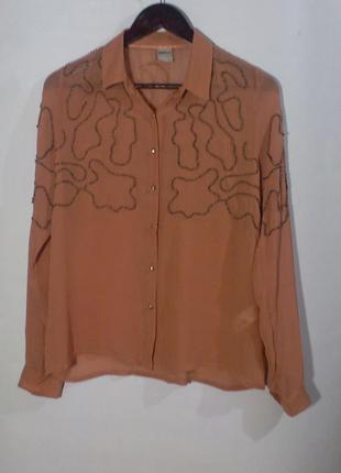 Блуза пудрового цвета бренд object collectors item