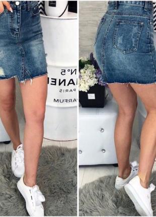 Юбка джынсовая спідниця джинсова