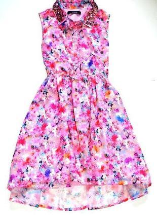 Платье -лето. лёгкое, яркое ,шифоновое, летящее!