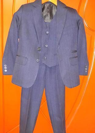Школьный костюм (тройка)