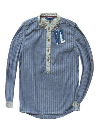Новая рубашка ovs италия / регулируеться на короткий рукав zara