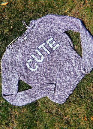 Милейший свитер кофта cute