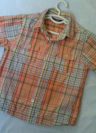 Рубашка шведка 2-3 и года