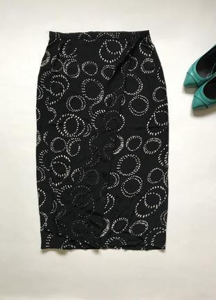 Marks&spenser, юбка миди на запах