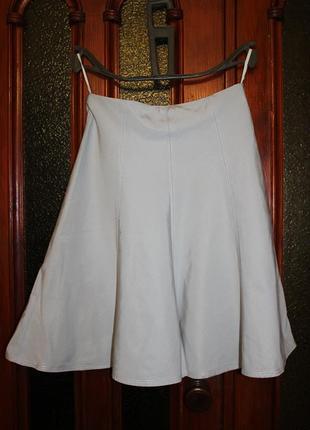 Натуральная юбка на подкладке