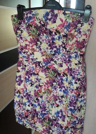 Яркий сарафан платье балкон