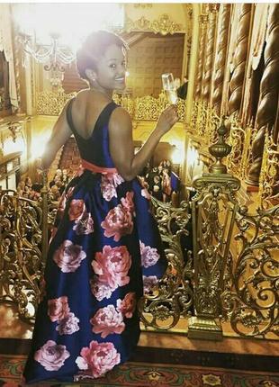 Шикарное вечернее платье chi chi london
