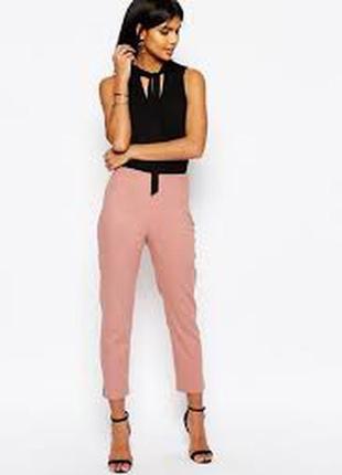 Вкорочені лляні штани asos  розмір 10 нові