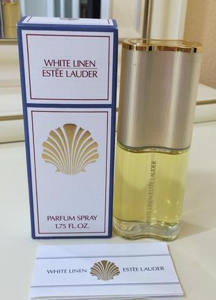 Духи винтажные estee lauder white linen,  50 мл