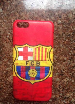 Чехол на iphone 5c fc barcelona