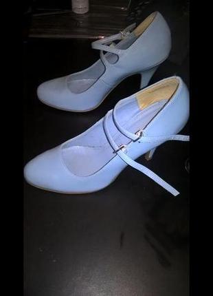 Голубые туфельки gorgeous