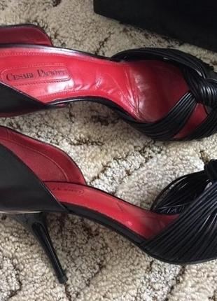 Туфли босоножки cesare paciotti (italy)