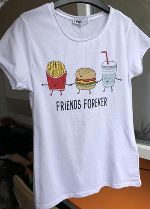 Нова котонова класна футболка