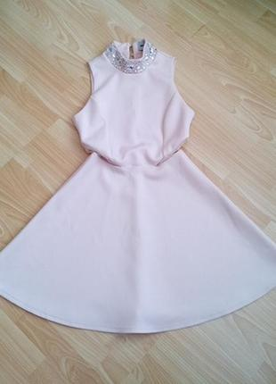 Шикарное платье со стразами, asos, р. uk10