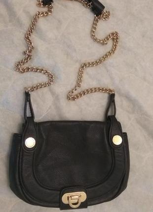 Стильная сумка сумочка кросс-боди french connection от asos на цепочке