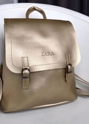 Модный и стильный рюкзак zara