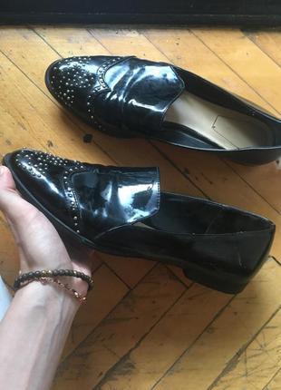 Лоферы , туфли зара