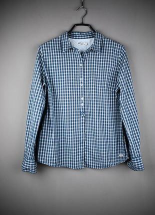 Очень стильная рубашка в клетку от tom tailor