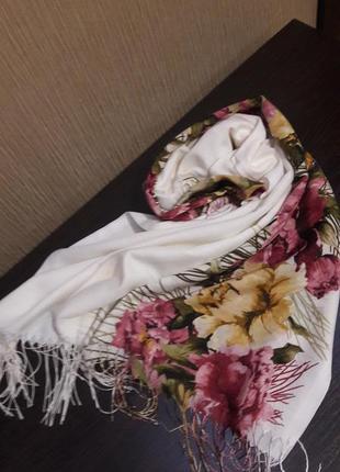 🌸невероятная шаль шарф палантин котон нарядный