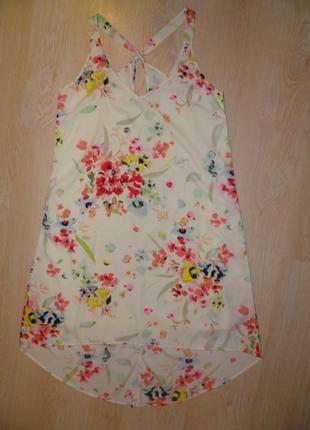 H&m-нежное платье с шлейфом!!