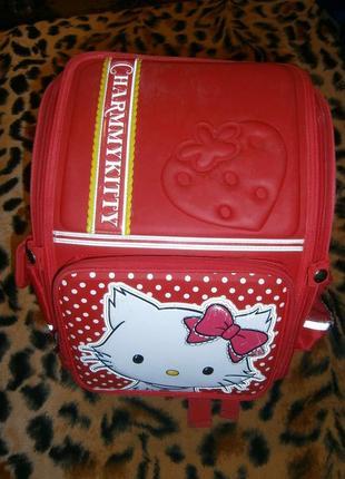 Рюкзак (ранец, портфель) каркасный с ортопедической спинкой