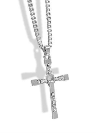 Крест кулон ожерелья для мужчин