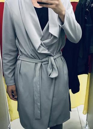 Накидка пальто плащь мантия кофта new look