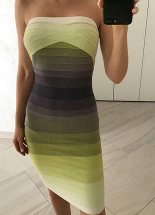 Платье herve leger. оригинал.