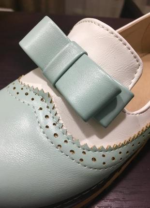 Стильные кожаные мягкие удобные туфли