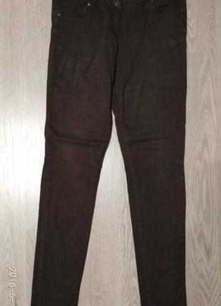 Джинсы/штаны/брюки/коричневые/джинси/штани коричневі