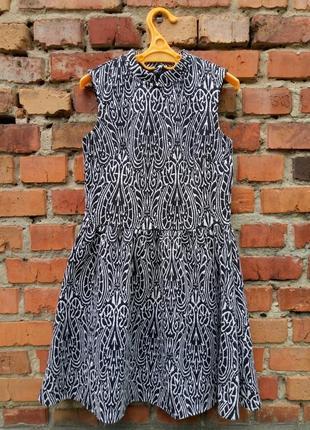 Короткое платье с узором atmosphere