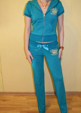 Роскошный спортивный костюм  juicy couture (джуси кутюр)