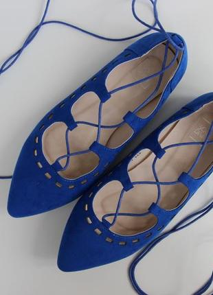 Туфли со шнуровкой sole diva
