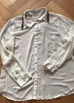 Шифоновая блуза george