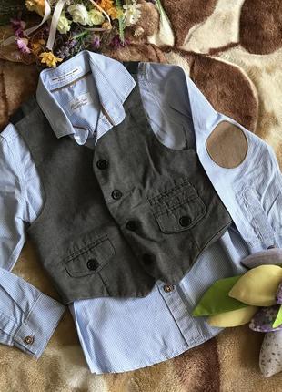Набор рубашка + жилет