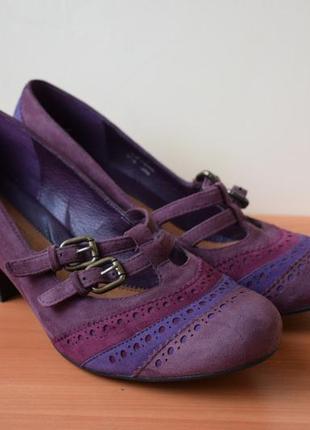 Туфли clarks. замша. размер 41