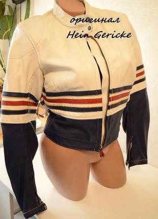 Куртка   hein gericke, кожа, оригинал, торг