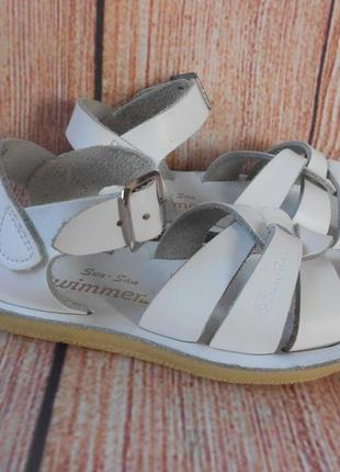 15,7см-24р swimmer сандалии кожаные на девочку арт.3140
