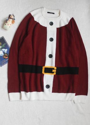 Новогодний свитер от george. размер l